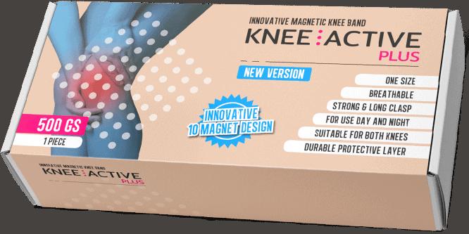 Knee Active Plus zapewnia wsparcie i stabilność