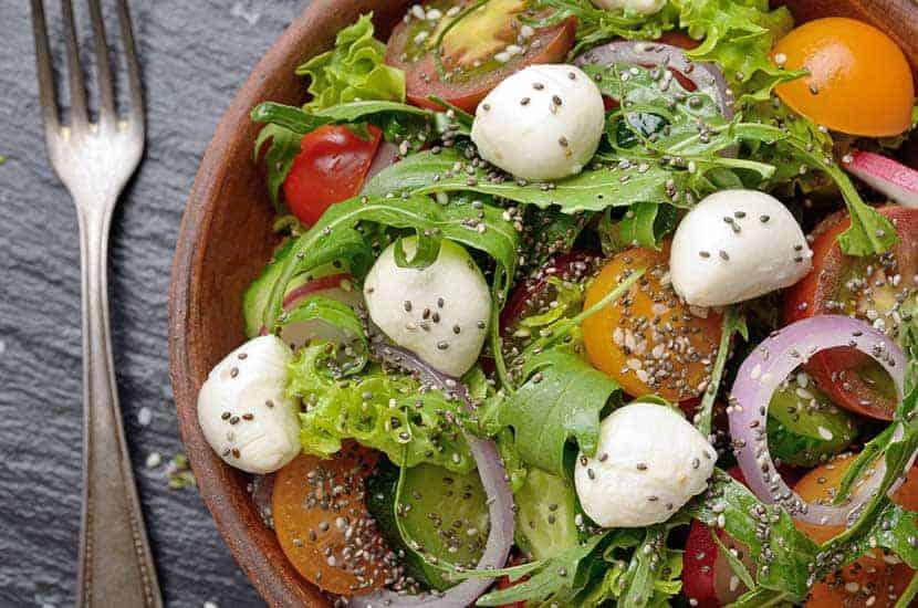 Jedzenie zdrowej diety jest najlepszym sposobem na zwiększenie efektów działania Sliminazera