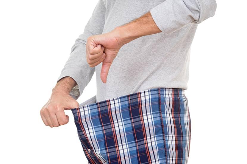 Zaburzenia erekcji to niezdolność do osiągnięcia i/lub utrzymania erekcji