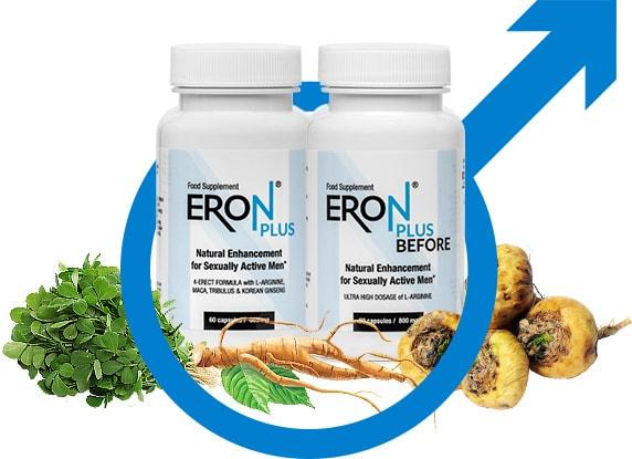 Eron Plus pomaga zrównoważyć męskie środowisko hormonalne