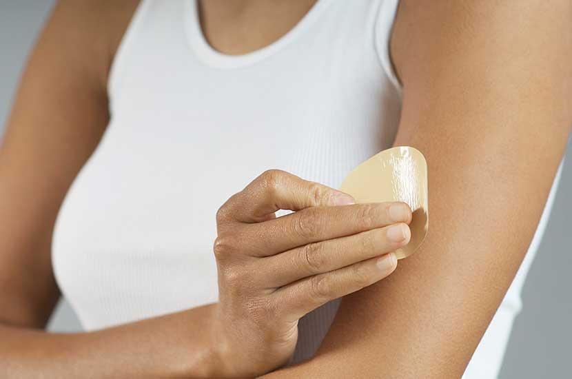 Zawsze umieszczaj łatę Sliminazer na zdrowej skórze
