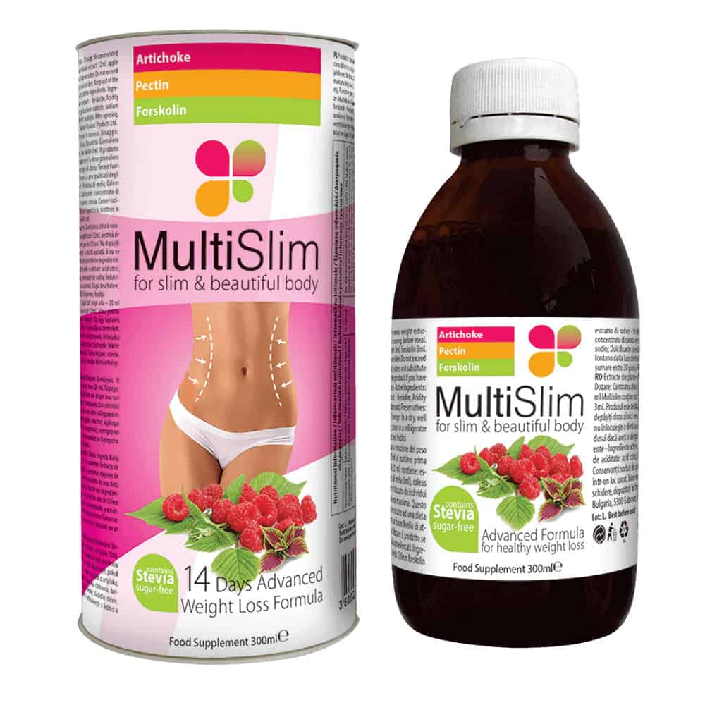 Multislim to syrop, który może pomóc utrzymać zdrową wagę