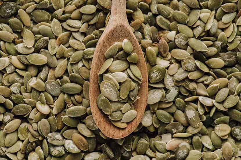 Nasiona dyni są bogate w cynk, który pomaga zwiększyć produkcję plemników