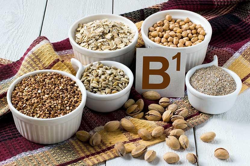 Witamina B1 występuje głównie w zbożach i roślinach strączkowych.