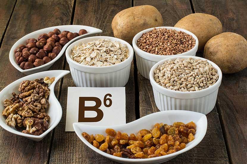 Witamina B6 jest naturalnie występująca w mięsie, jajach, rybach i warzywach.