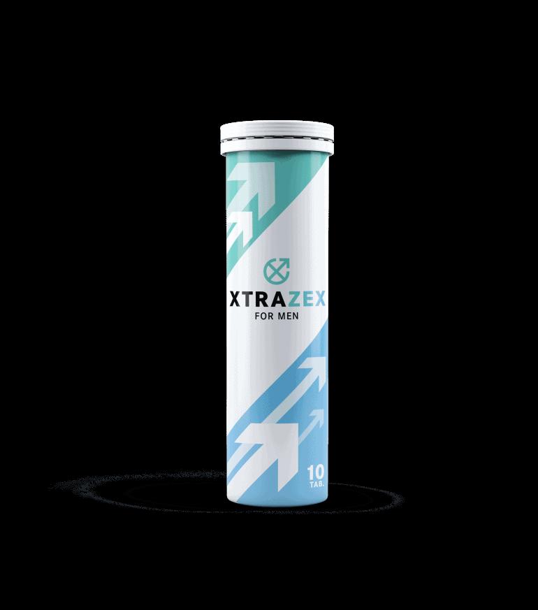Xtrazex jest produktem w postaci tabletek musujących dla mężczyzn o męskiej potencji