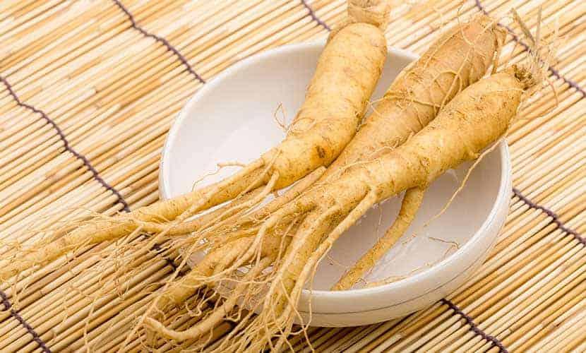Żeń-szeń jest popularnym afrodyzjakiem w tradycyjnej medycynie chińskiej.