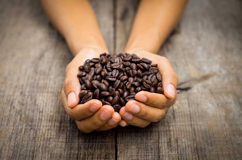 Kofeina jest w stanie przeniknąć przez skórę głowy